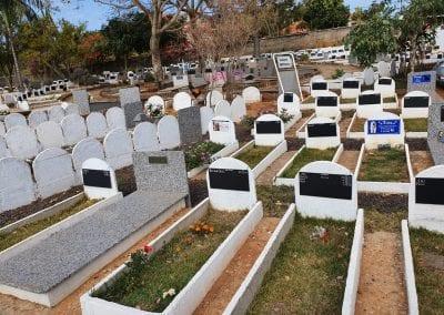 Cemiterio de Animais Botucatu Sepultamento de animais Quadra com lapide 10