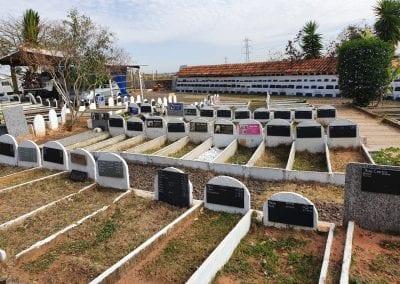 Cemiterio de Animais Botucatu Sepultamento de animais Quadra com lapide 15
