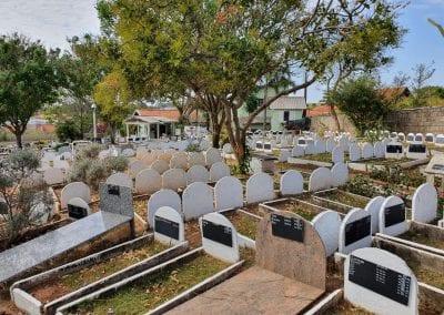 Cemiterio de Animais Botucatu Sepultamento de animais Quadra com lapide 3