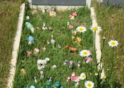 Cemiterio de Animais Botucatu Sepultamento de animais Quadra com lapide 4 1