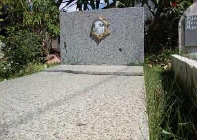 Cemiterio de Animais Botucatu Sepultamento de animais Quadra com lapide 8 1