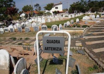 Sepultamento de animais Quadra Artemizia Cemiterio de Animais Botucatu